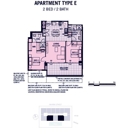 810/659 Murray Street, West Perth 6005, WA Apartment Photo