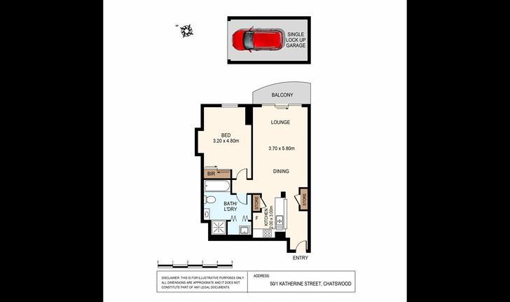 50/1 Katherine Street, Chatswood 2067, NSW Apartment Photo