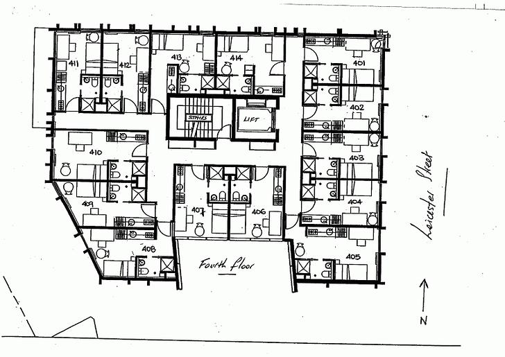 411/127 Leicester Street, Carlton 3053, VIC Studio Photo