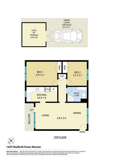 14/67 Shadforth Street, Mosman 2088, NSW Apartment Photo