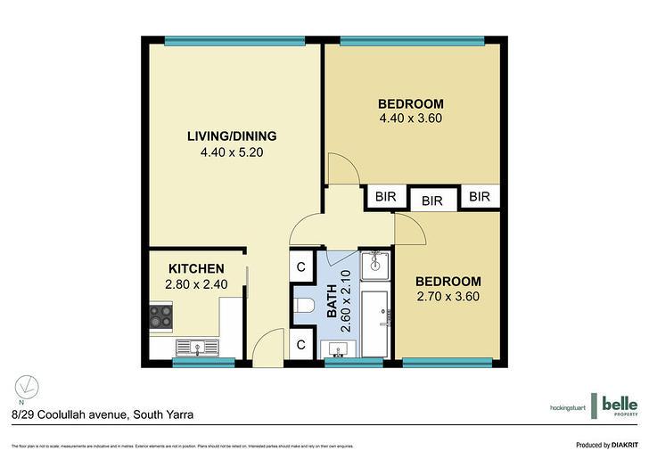 8/29 Coolullah Avenue, South Yarra 3141, VIC Apartment Photo