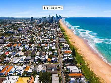 2/4 Hedges Avenue, Mermaid Beach 4218, QLD Unit Photo
