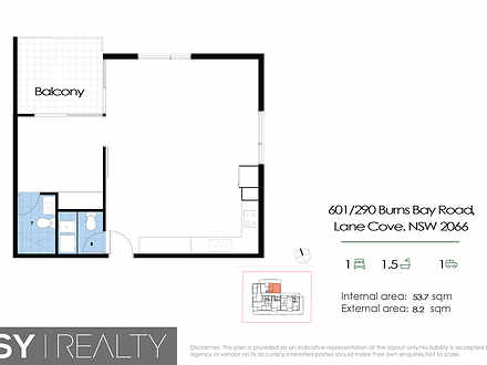 601/290 Burns Bay  Road, Lane Cove 2066, NSW Apartment Photo