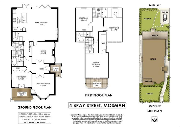4 Bray Street, Mosman 2088, NSW House Photo