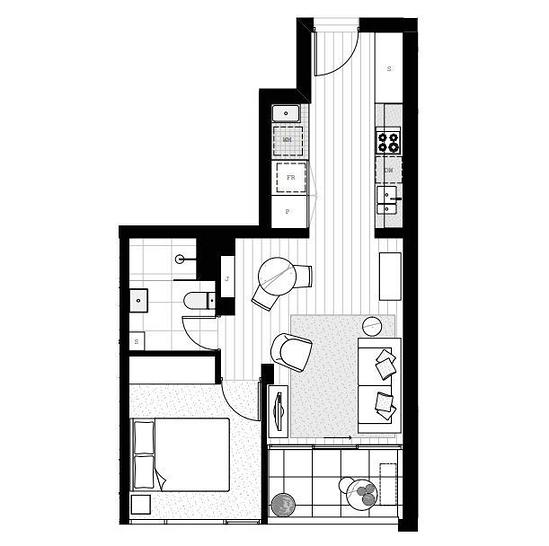 508/1 Dyer Street, Richmond 3121, VIC Apartment Photo