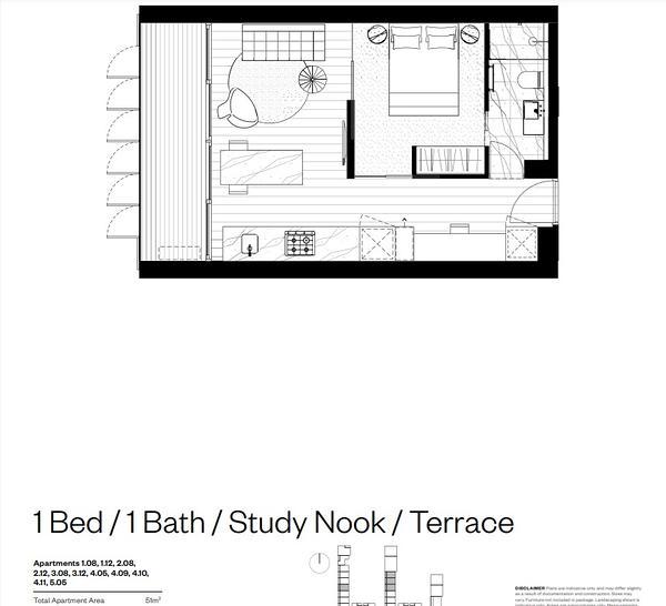 405/K6 High Street, Windsor 3181, VIC Apartment Photo
