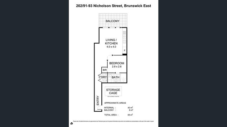 302/91 Nicholson Street, Brunswick East 3057, VIC Apartment Photo