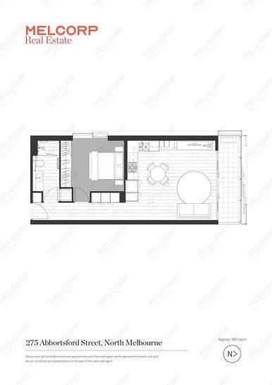 307/275 Abbotsford Street, North Melbourne 3051, VIC Apartment Photo