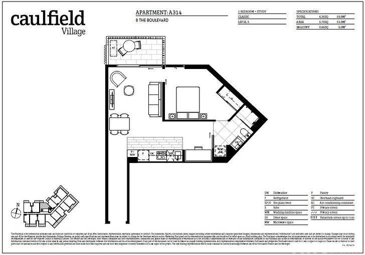 A314/2 Caulfield Boulevard, Caulfield North 3161, VIC Apartment Photo