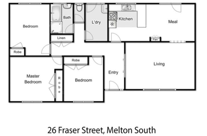 26 Fraser Street, Melton South 3338, VIC House Photo
