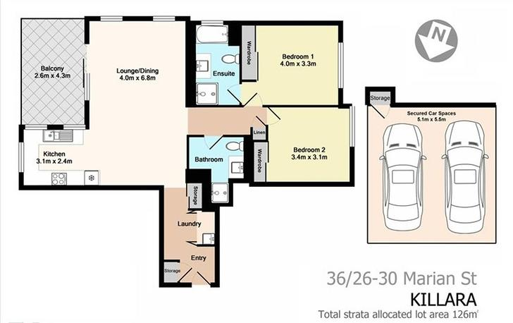 36/26-30 Marian Street, Killara 2071, NSW Apartment Photo