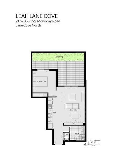 2.05/586-592 Mowbray Road, Lane Cove North 2066, NSW Apartment Photo