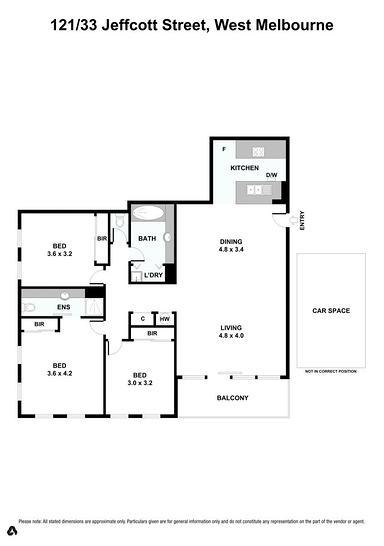 121/33 Jeffcott Street, West Melbourne 3003, VIC Apartment Photo