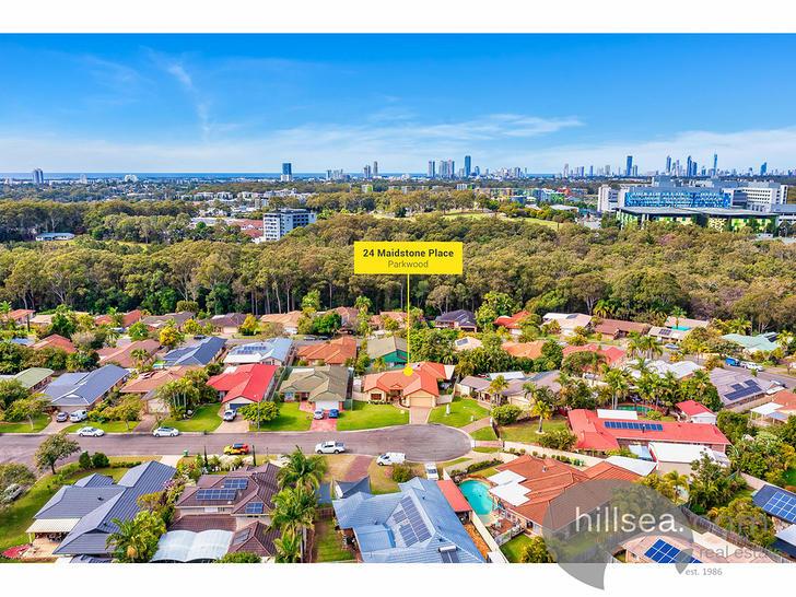 24 Maidstone Place, Parkwood 4214, QLD House Photo