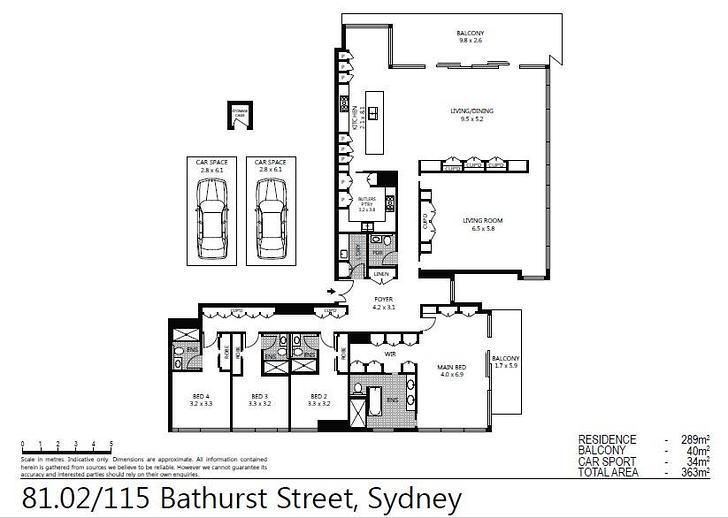 81.02/115 Bathurst Street, Sydney 2000, NSW Apartment Photo