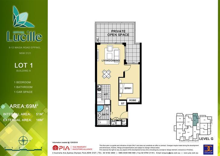 1/6-12 Maida Road, Epping 2121, NSW Apartment Photo