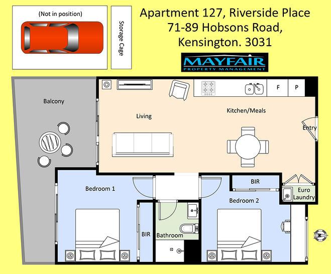 127/71-89 Hobsons Road, Kensington 3031, VIC Apartment Photo