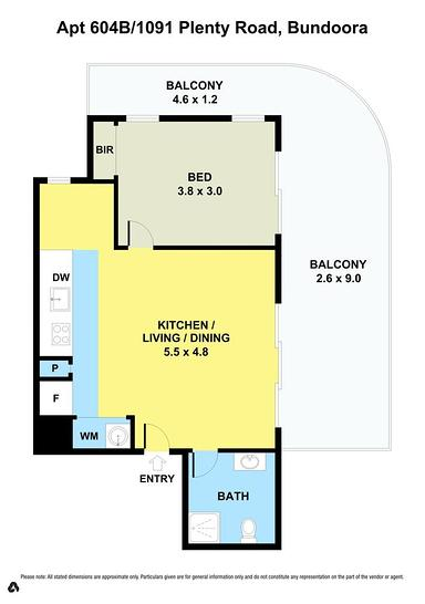 LEVEL 6/604B/1091 Plenty Road, Bundoora 3083, VIC Apartment Photo