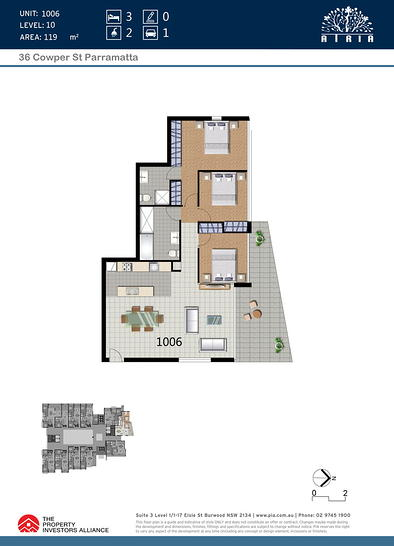 1006/36 Cowper Street, Parramatta 2150, NSW Apartment Photo