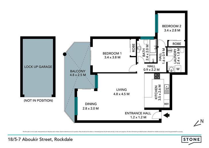 18/5-7 Aboukir Street, Rockdale 2216, NSW Apartment Photo