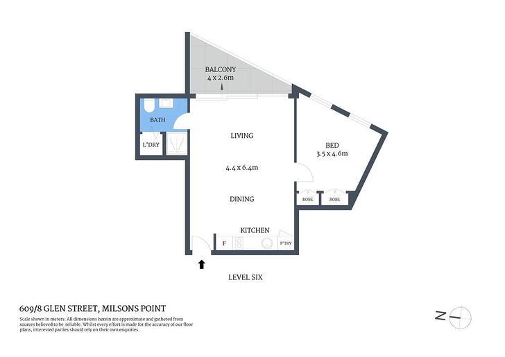 609/8 Glen Street, Milsons Point 2061, NSW Apartment Photo