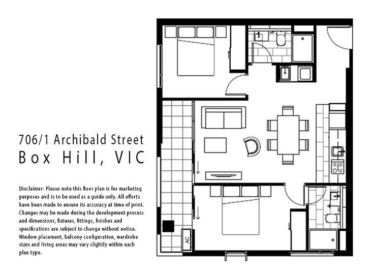 706/1 Archibald Street, Box Hill 3128, VIC Apartment Photo