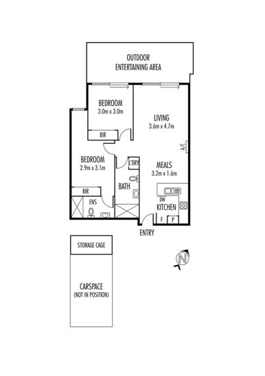 206/125 Turner Street, Abbotsford 3067, VIC Apartment Photo