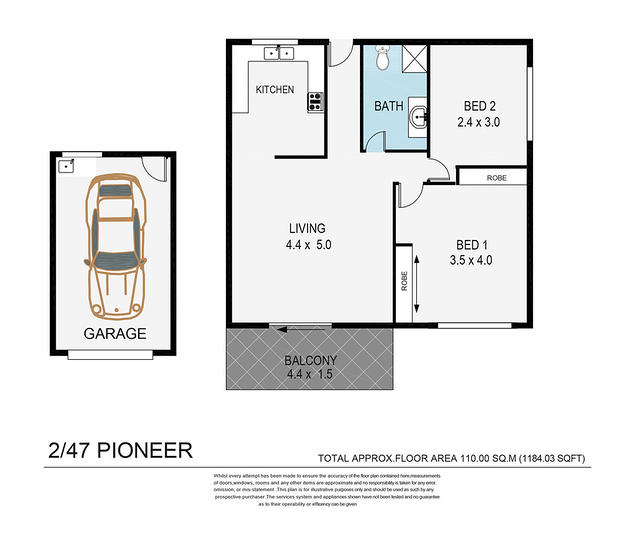 2/47 Pioneer Street, Zillmere 4034, QLD Unit Photo
