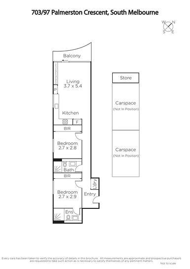 703/97 Palmerston Crescent, South Melbourne 3205, VIC Apartment Photo