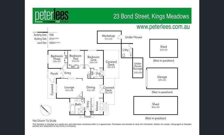 23 Bond Street, Kings Meadows 7249, TAS House Photo