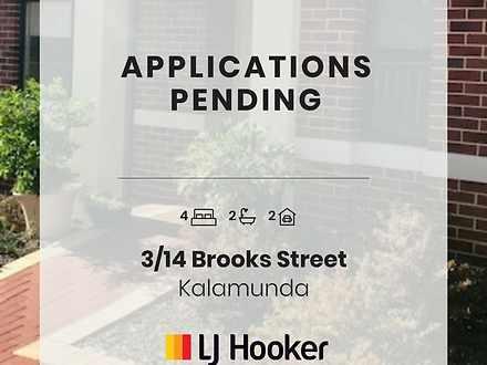 3/14 Brooks Street, Kalamunda 6076, WA House Photo