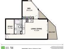 Apartment - 908/17 Mary Street, Brisbane 4000, QLD